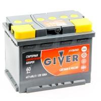 Аккумулятор Giver 6СТ 60 ah R